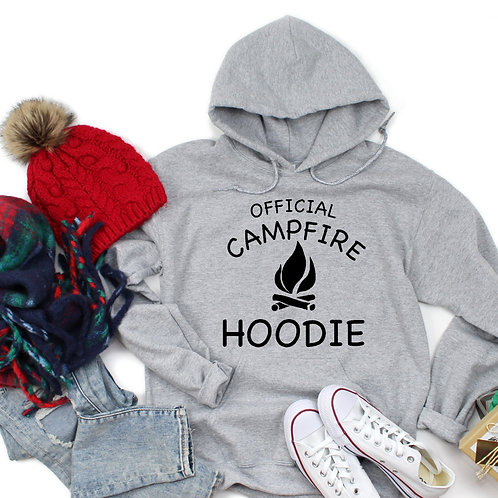 Official campfire hoodie (black)