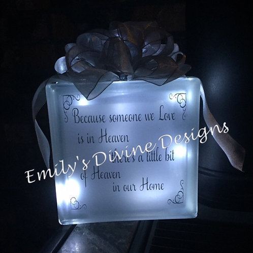 'Heaven in Our Home' Lighted Decoration