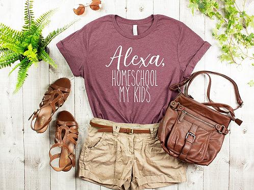 Alexa, homeschool my kids