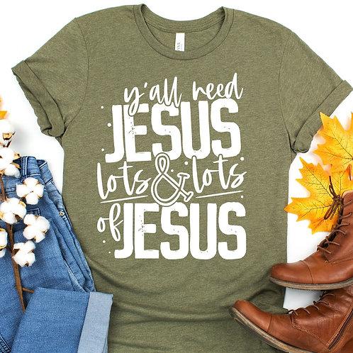 Y'all need JESUS lots & lots of JESUS