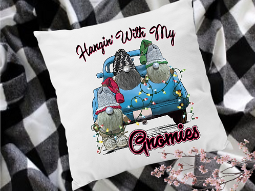 Hanging with my Gnomes Pillow Cover