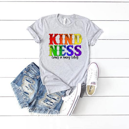 Kindness Comes in many colors (rainbow)