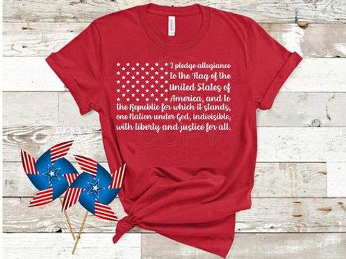 Pledge Flag