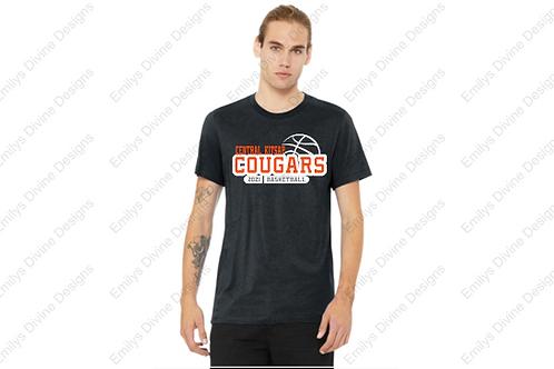 CK Basketball Short Sleeve T-Shirt (Dark Heather Grey)