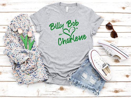 Billy Bob loves Charlene