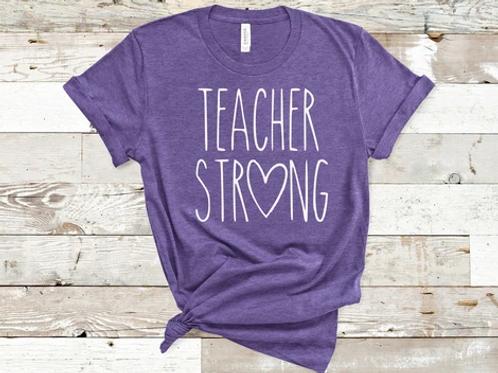 Teacher Strong with heart