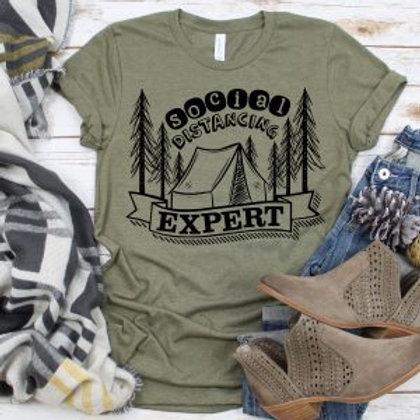 Social Distancing Expert Camping