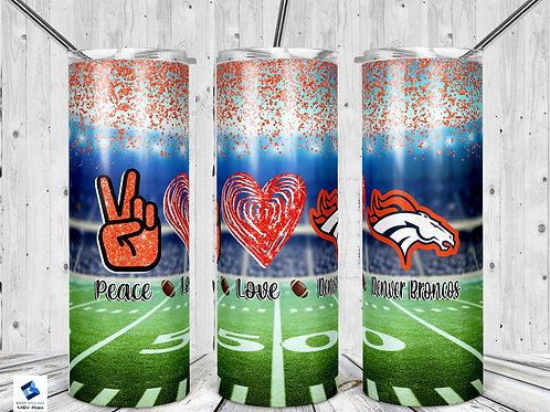 Peace Love Broncos