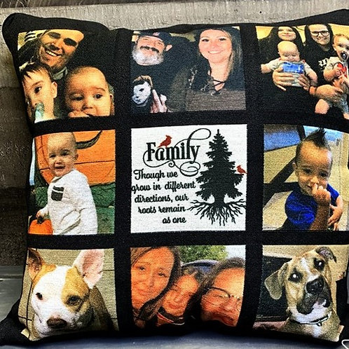 Photo Panel Pillow Cover