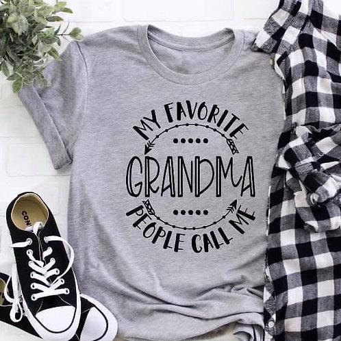 My favorite people call my Grandma