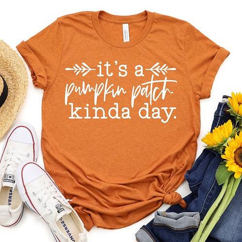 It's a pumpkin patch kinda day