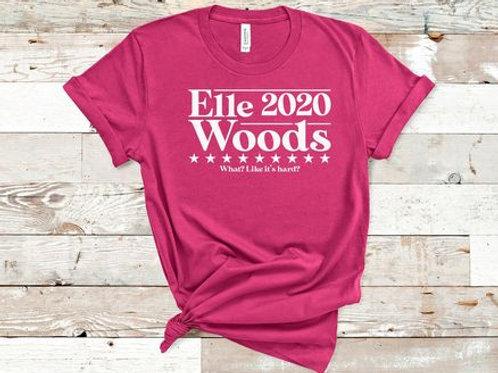 Elle Woods 2020. What? Like it's hard!