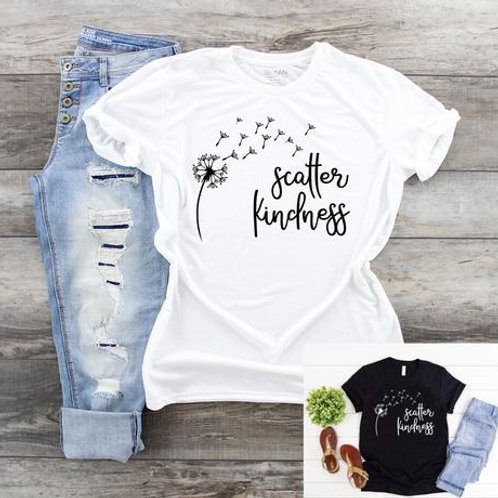 Scatter Kindness (white ink ONLY)