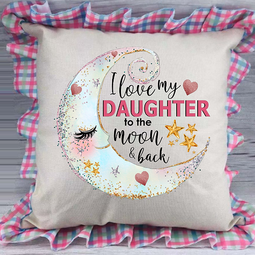 Spring Plaid Pillow Cover (daughter)