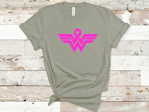 Wonder Woman Breast Cancer Awareness