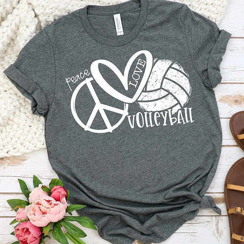 Peace Love Volleyball