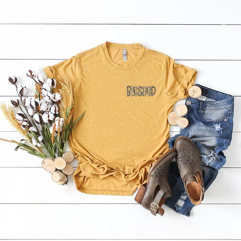 Blessed Leopard (chest size logo)