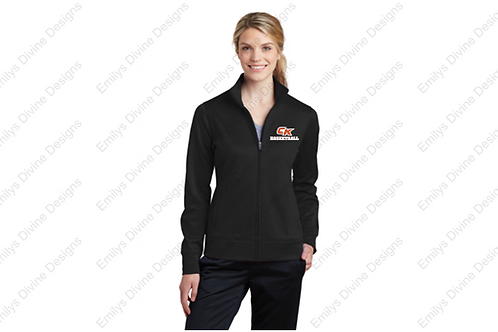 CK Basketball Full Zip Jacket (Ladies Cut)