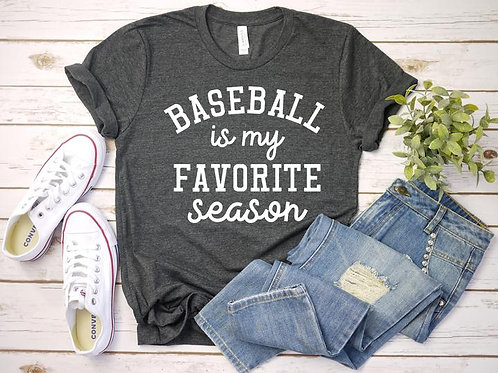 Baseball Is My Favorite Season