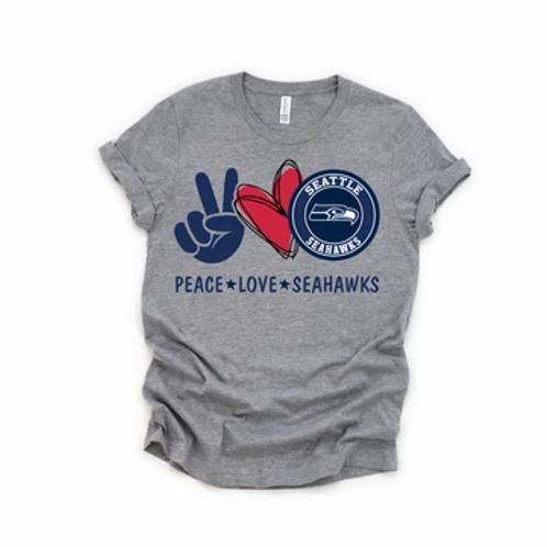 Peace Love Seahawks