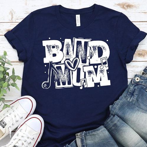 Band Mom (white ink)