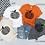 Thumbnail: Black Chevron Pumpkin