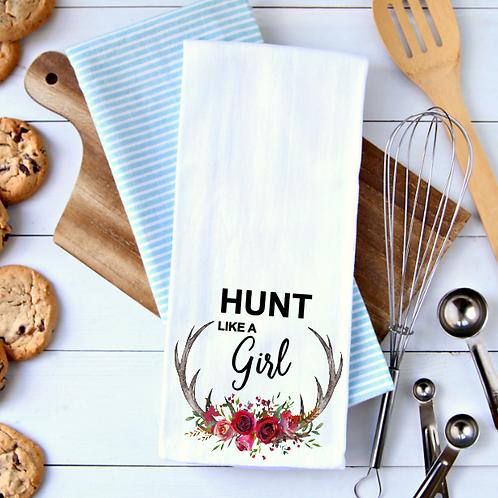 Hunt like a girl Towel