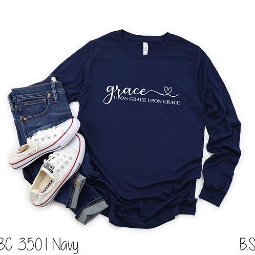 Grace up grace upon grace