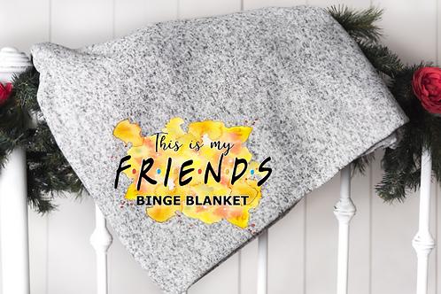Friends Watching Blanket