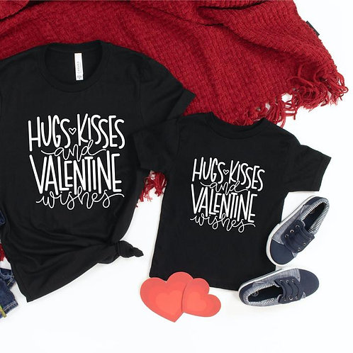 Hugs and kisses and Valentine wishes (youth)