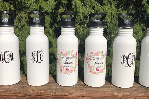 Sublimation Stainless Steel 20oz. Water bottle