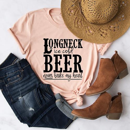 Longneck Ice cold Beer