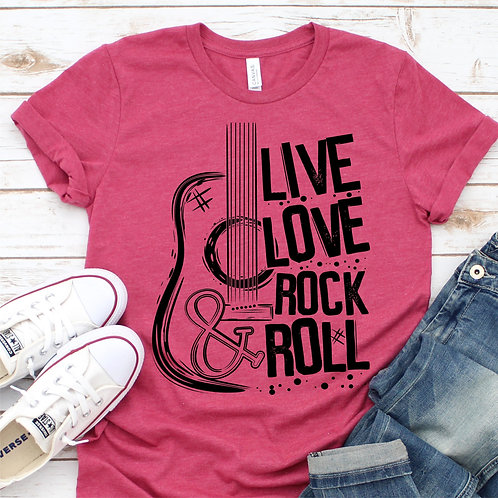 Live Love Rock and Roll