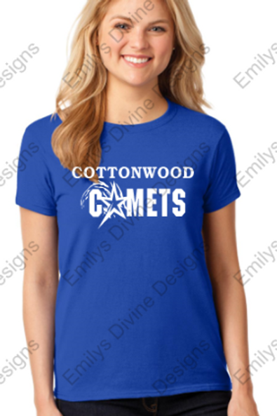 Cottonwood Ladies Short Sleeve