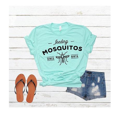 Feeding Mosquitos since birth