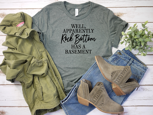 Well, apparently rock bottom has a basement