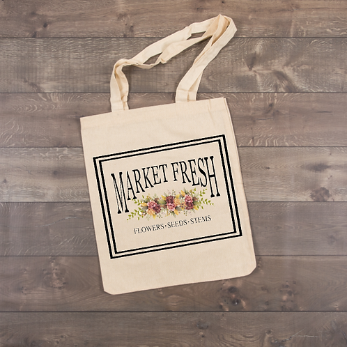 Market Fresh Tote (sublimation)
