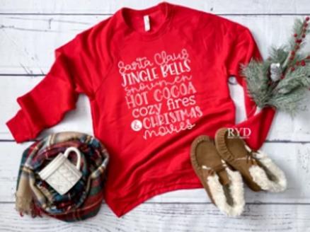 Santa, Jingle Bells, Snowmen