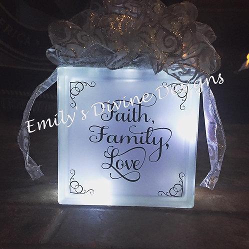Faith, Family, Love