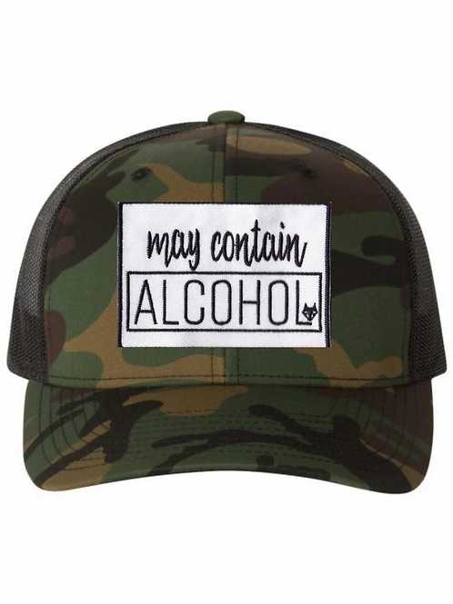 Hat-May Contain Alcohol