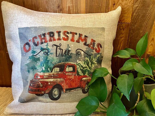 O Christmas Tree Pillow Cover