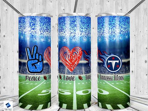 Peace Love Titans