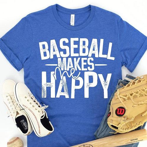 Baseball Makes Me Happy