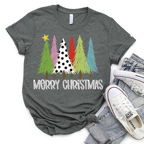 Merry Christmas (polka dot tree)