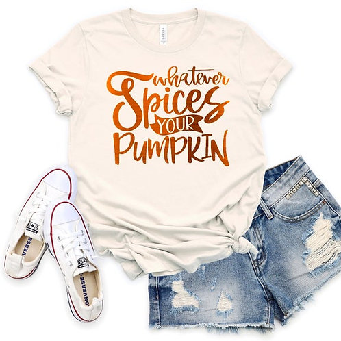 Whatever Spices your Pumpkin (orange ink)