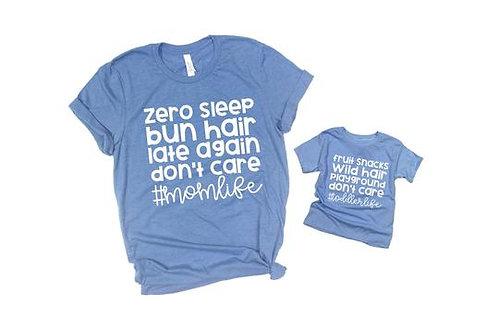 Zero Sleep, Bun Hair (mom and youth set)
