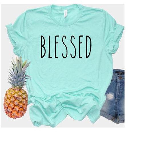 Blessed (black ink)