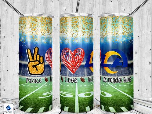Peace Love Rams
