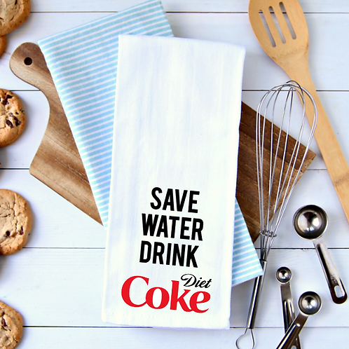 Save Water Drink Towel