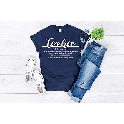 Teacher-kind of a big deal